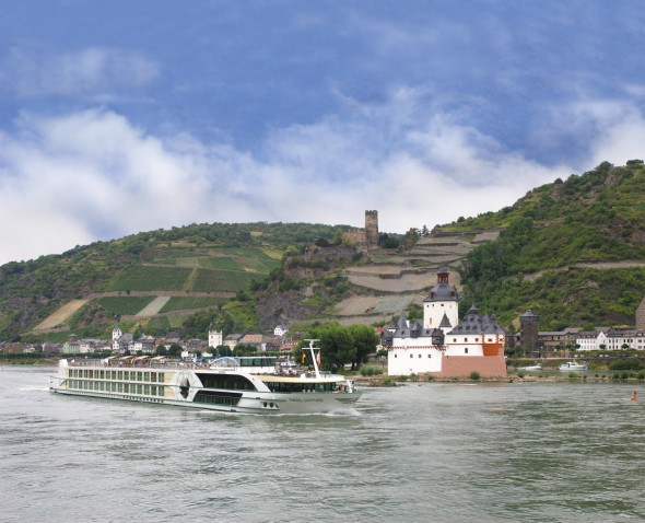 Tauck River Boat Sapphire on the Rhine River