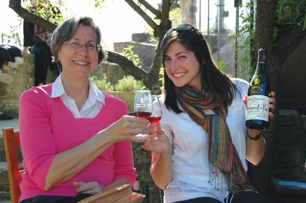 Chateauneuf du Pape wine tasting
