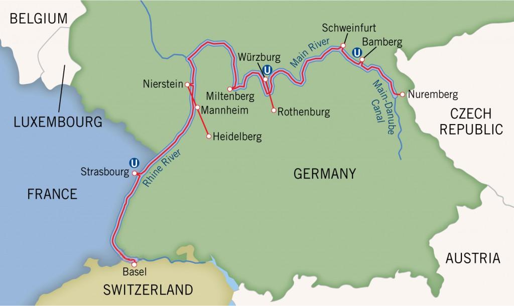 Rhine and Main Rivers