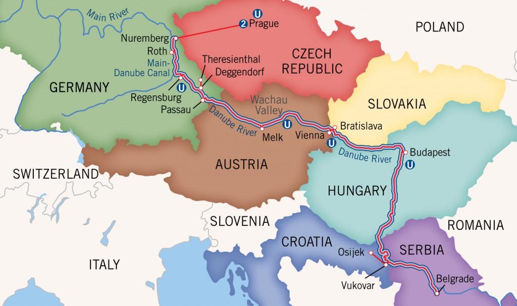 Upper Reaches Danube