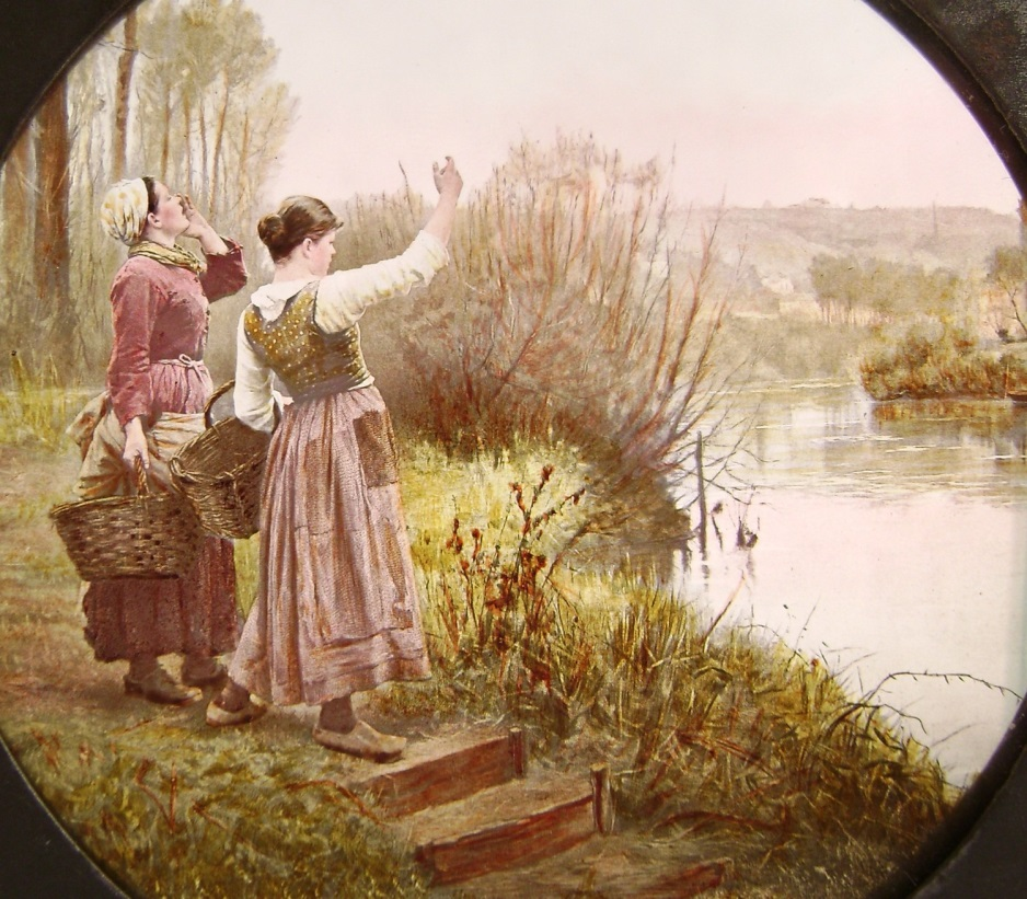 women_on_riverbank