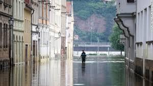 River Boat Elbe Flooding