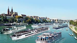 River Boat  Overcrowding Many Boats  TW AX