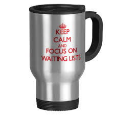 Waiting List Keep Calm CX