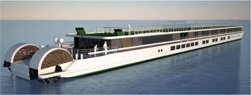 River Boat CroisiEurope  Paddlewheel Design  BX